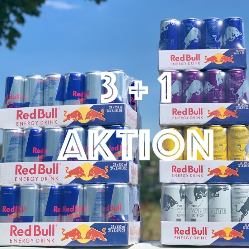Red Bull Aktion 3 + 1