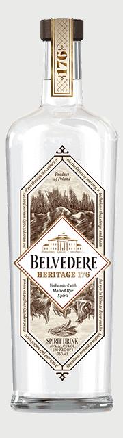 belvedere heritage 176 Flasche