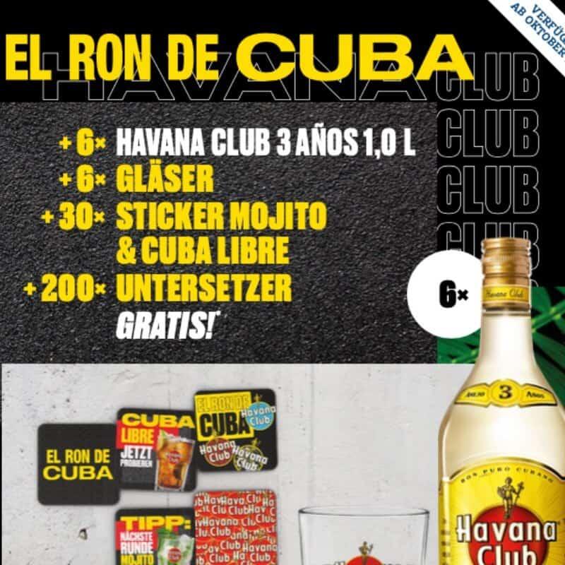 Havana Club Rum Aktion Oktober 2020