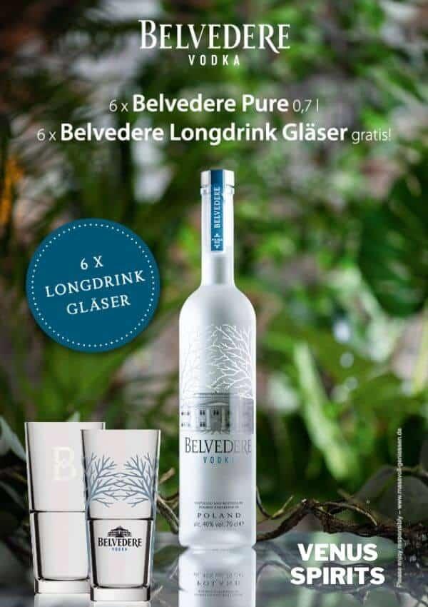 Belvedere Aktion Glas