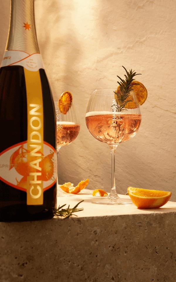Chandon Garden Spritz Flasche